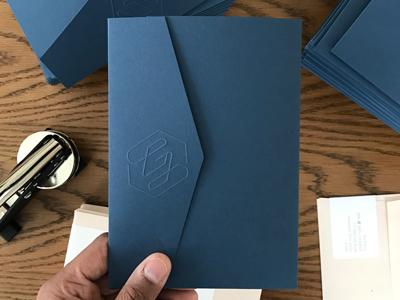 Wedding Monogram (Pt. 2) wedding monogram g embossing embossed emboss wedding monogram blue navy