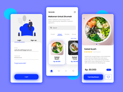 Foods Apps app design marketplace ui mobile design foods mobile app design design app