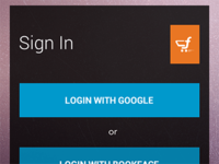 Login Screen for an Android Application
