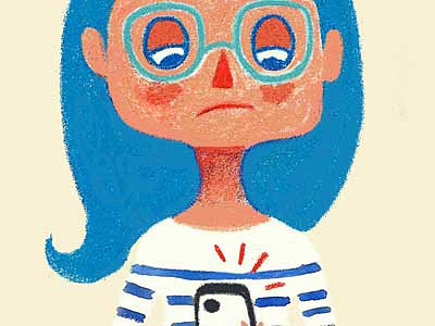bored tween illustration
