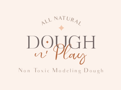 Dough n' Play - Play Dough Logo & Branding logo design logo branding illustration design