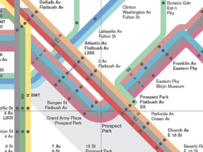 1972 Vignelli NY Subway Map