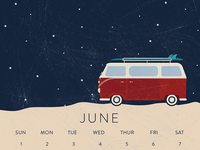VW car wash calendar
