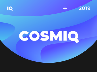 Cosmiq abstract case behance ux branding vector ui illustration logo