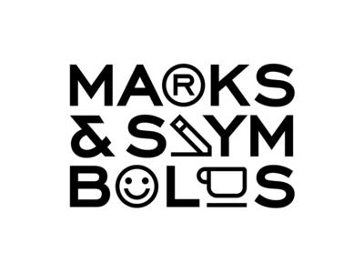 Trade marks & symbols 2019 abstract branding typography design vector mark black logo