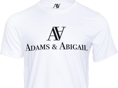Day 7 - Adams & Abigail fashion logo fashion design fashion fashion brand clothes clothing typography branding wantfeedback design logo dailylogochallenge