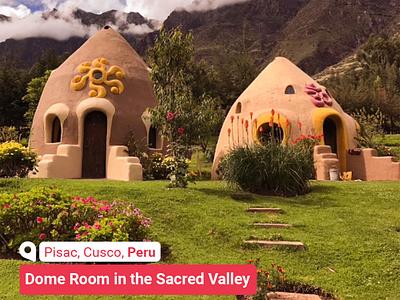 Dome Room  | Pisac. Cusco, Peru | www.radar361.com sightseeing branding travel travel agency هتل بلیط هواپیما hotel booking hotel
