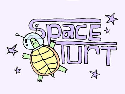 Space Turtle illustration spaceturtles