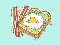 Bacon, Eggs & Avocado