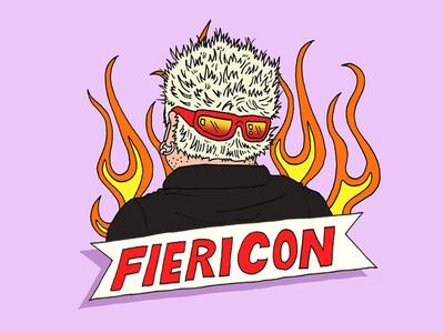 Fiericon art design illustration food fire guy guy fieri fieri fiericon