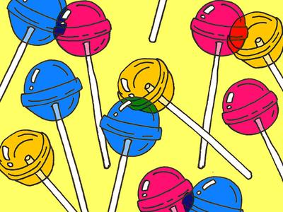 Lollipop candy sweets sweet sugar lollipops lollipop lollies design art illustration