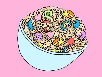 Lucky Charms design food illustration sugar cereal lucky charms charms lucky