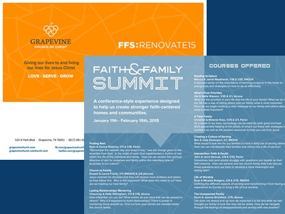 FFS Guide (Print) print ffs faith family church summit conference