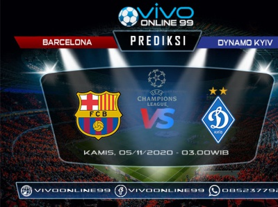 prediksi barcelona vs dynamo kyiv 05 november 2020 by tribunvivo on dribbble dribbble