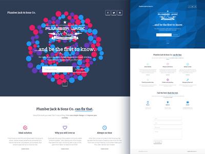 Plumber Jack - coming soon HTML template