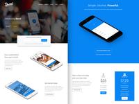 Beard - App Landing Page HTML Template