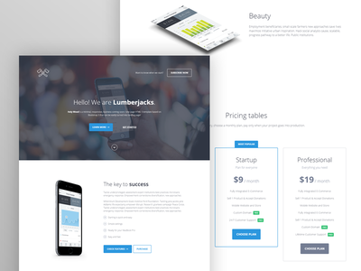 Holy Wood goes Wordpress! app business clean corporate html landing page wordpress minimal mobile one page responsive startup