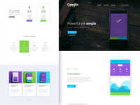Campfire - Responsive Landing Page Template