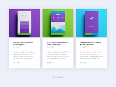 Blog posts / Campfire - Responsive Landing Page Template