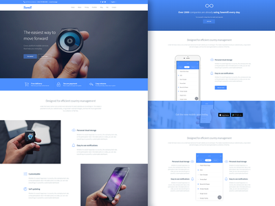 Sawmill - Responsive Landing Page Template web startup jquery css parallax responsive theme template html landing page mobile app