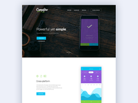 Campfire - Responsive WordPress Landing Page Theme