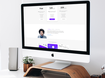 Moose - Modern Landing Page HTML Template features web startup jquery css responsive theme template html landing page mobile app