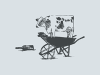 Cow Illustration