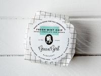 Green Girl Bakeshop Ice Cream Sandwich Packaging Design