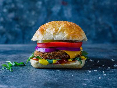 Falasophy Falafel Burger