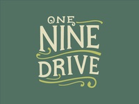 One Nine Drive Food Truck Logo