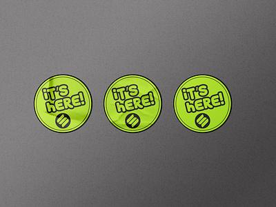Flat Sticker Dezine sticker icon minimal attractive elegant minimalist creative design branding typography simple modern flat label stickers