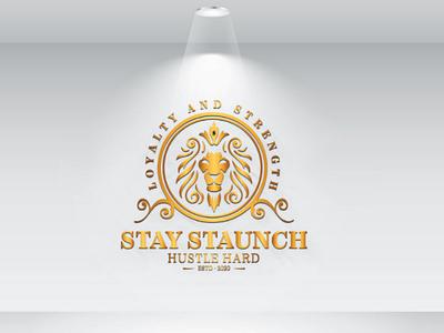 Stay Staunch Logo Dezine minimalist creative modern