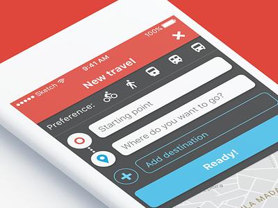 Mobigo App - Public Transportation travel app maps uiuxdesign uiux design uxdesign uidesign prototype app design