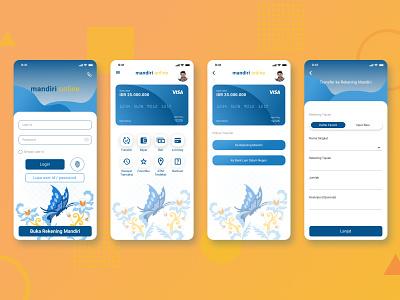 Redesign Mandiri Online App By Prayogi On Dribbble