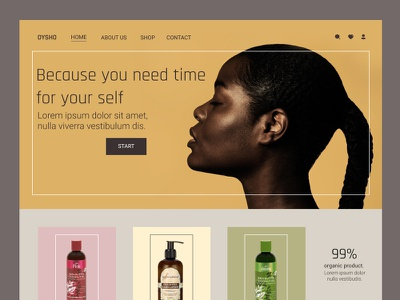 UI Skin care Website Design typography ui app ux userinterface illustration ui design minimal istanbul design