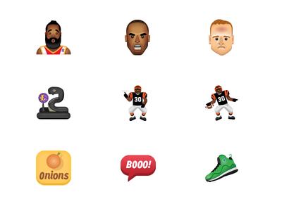 Sport Themed Emojis