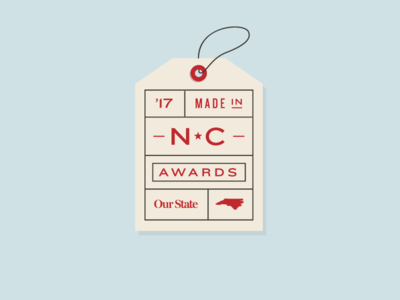 Made In NC Awards logo