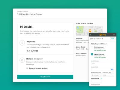 Payment Setup website design website desktop mobile app web interface form payments ui ux