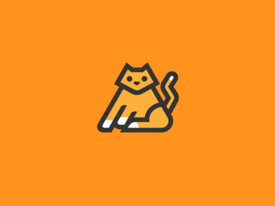 Kitty Logo kitty cat illustration bootstrap logos icon logo cat kitty