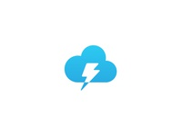 Lightning Cloud Chat Logo