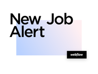I am joining Webflow