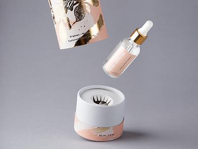 Blanc Naturals visualidentity tube skincare poland packagingdesign packaging label identity hotstamping gold foxtrotstudio l  foxtrot foi design branding beauty