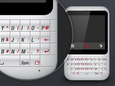 Mobile Illustration mobile phone concept handset icon