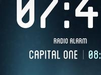 Radio Alarm Clock App