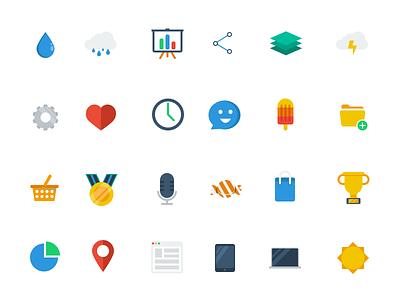 Iconset (Freebie) flat iconset icon icons freebie free