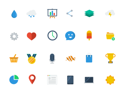 Iconset (Freebie) flat iconset icon icons freebie free