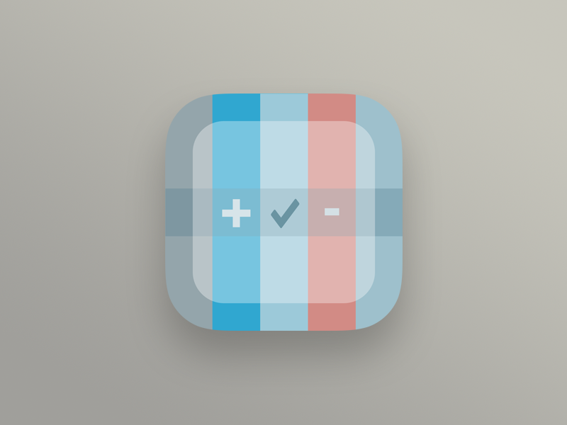 Tweepr Icon app icon iphone appstore twitter blue red grey