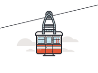 Ropeway Outlined