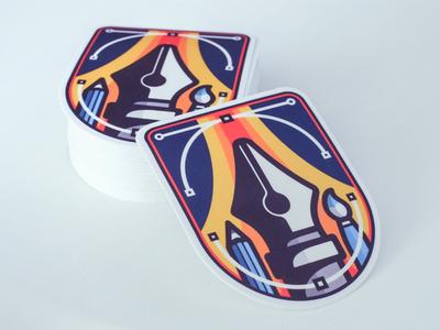 illustrator sticker sticker badge vectors pen tool illustrator illustration