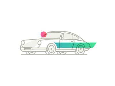 Porsche 911 car 911 porsche iconography illustration icon icons